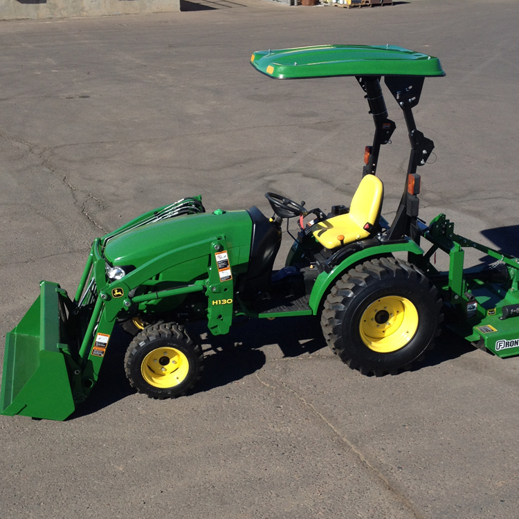 John Deere 2038R 37-HP Compact Utility Tractor - AG-POWER