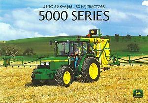 1999 John Deere 5000 Series Tractors Brochure | eBay