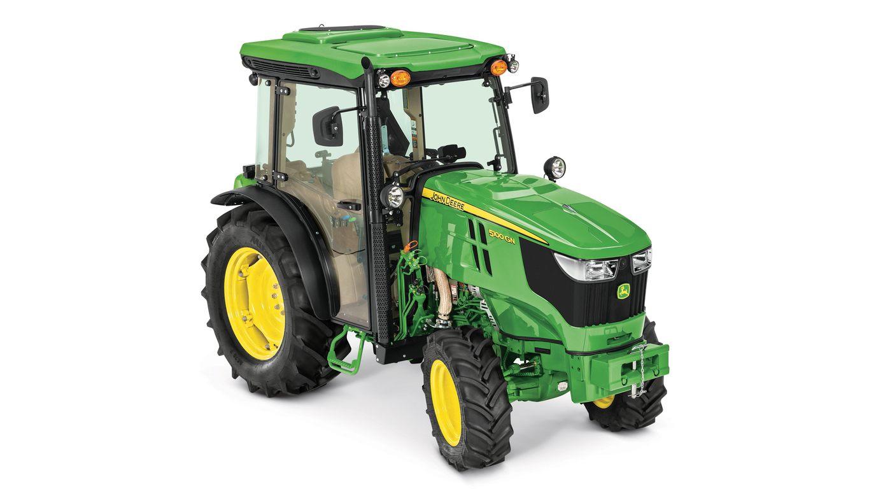 Specialty Tractors | 6155RH Hi-Crop | John Deere US