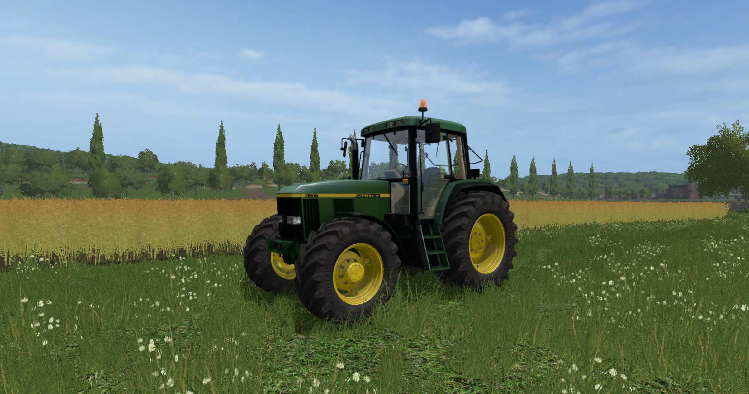 JOHN DEERE 6810/6910 (6000 Ten Series) FS17 - Farming ...