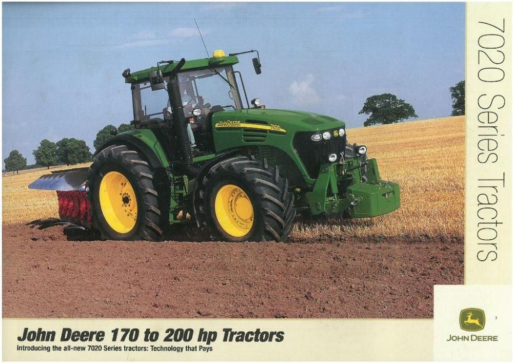 john deere 7020 series tractors