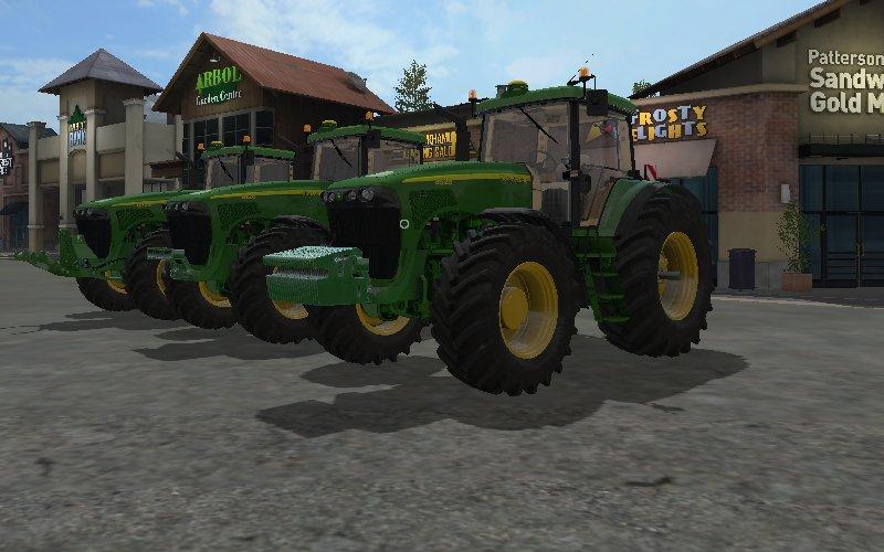 john deere 8020 series tractors