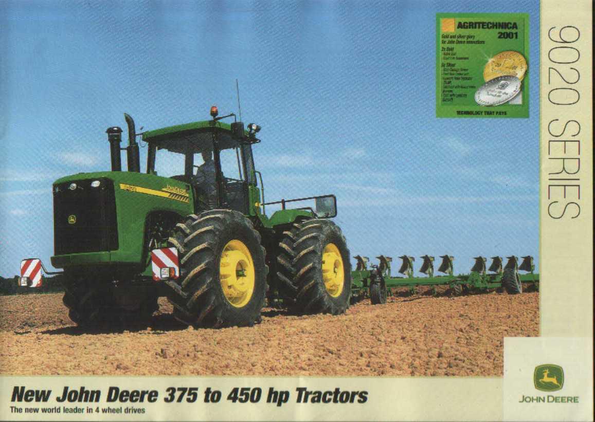 john deere 9020 series tractors