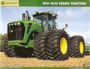 Farm Tractor Brochure John Deere 9230 Et Al 9030 Series ...