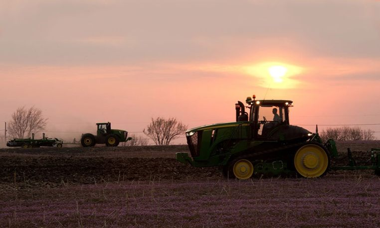 John Deere 7R Series Row Crop Tractors