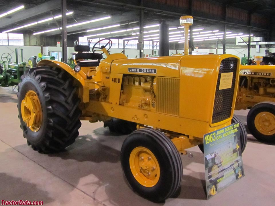 TractorData.com John Deere 4010 Wheel industrial tractor ...