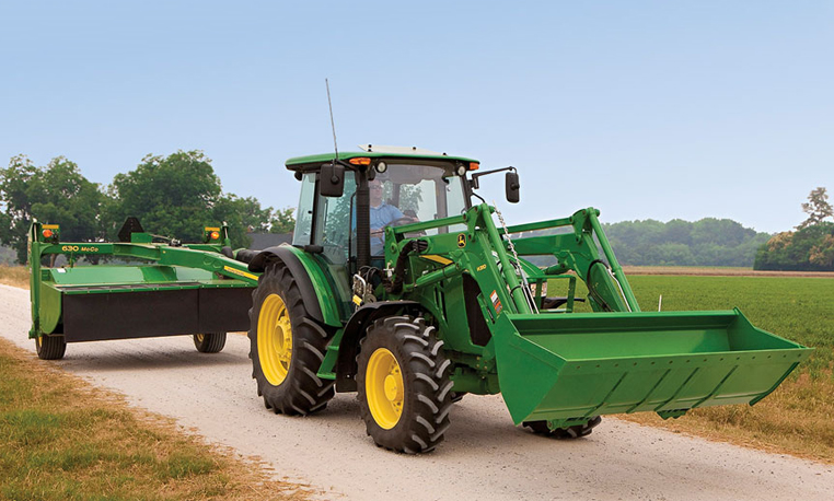john deere 5m series utility tractors