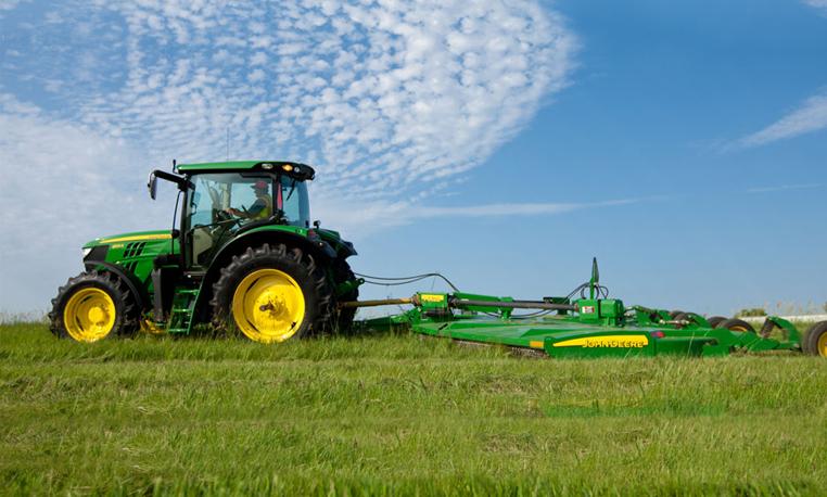 john deere 6r series utility tractors