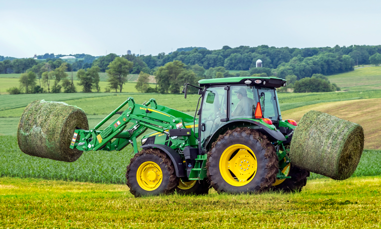 john deere 5r series utility tractors