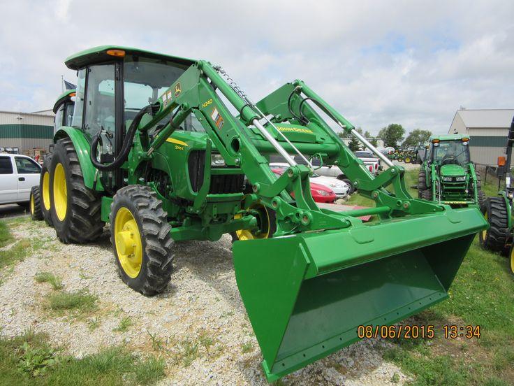 ... John Deere on Pinterest | Tractors, John Deere 5065e and John Deere