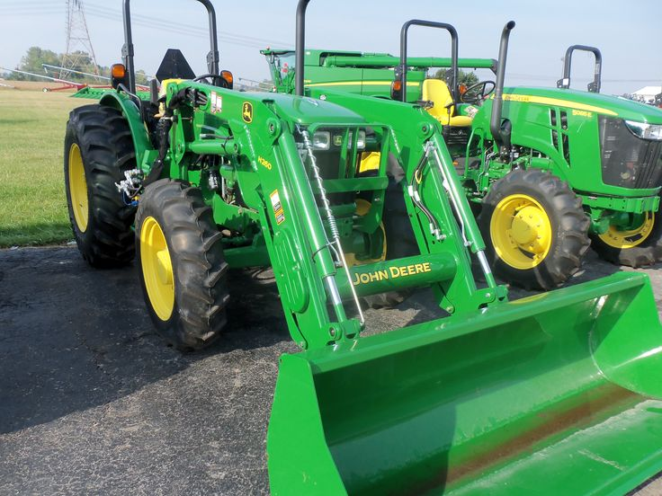 John Deere 5101E with H260 loader | John Deere equipment | Pinterest