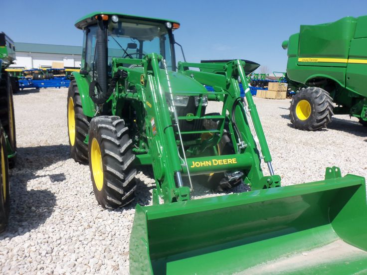 JOhn Deere 5115M with H260 loader | John Deere equipment | Pinterest