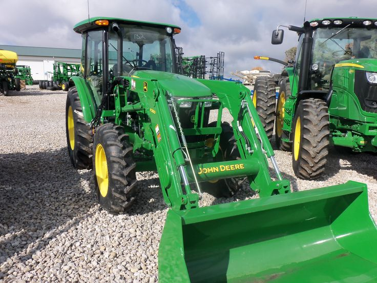 John Deere 5085E with H260 loader | John Deere equipment | Pinterest