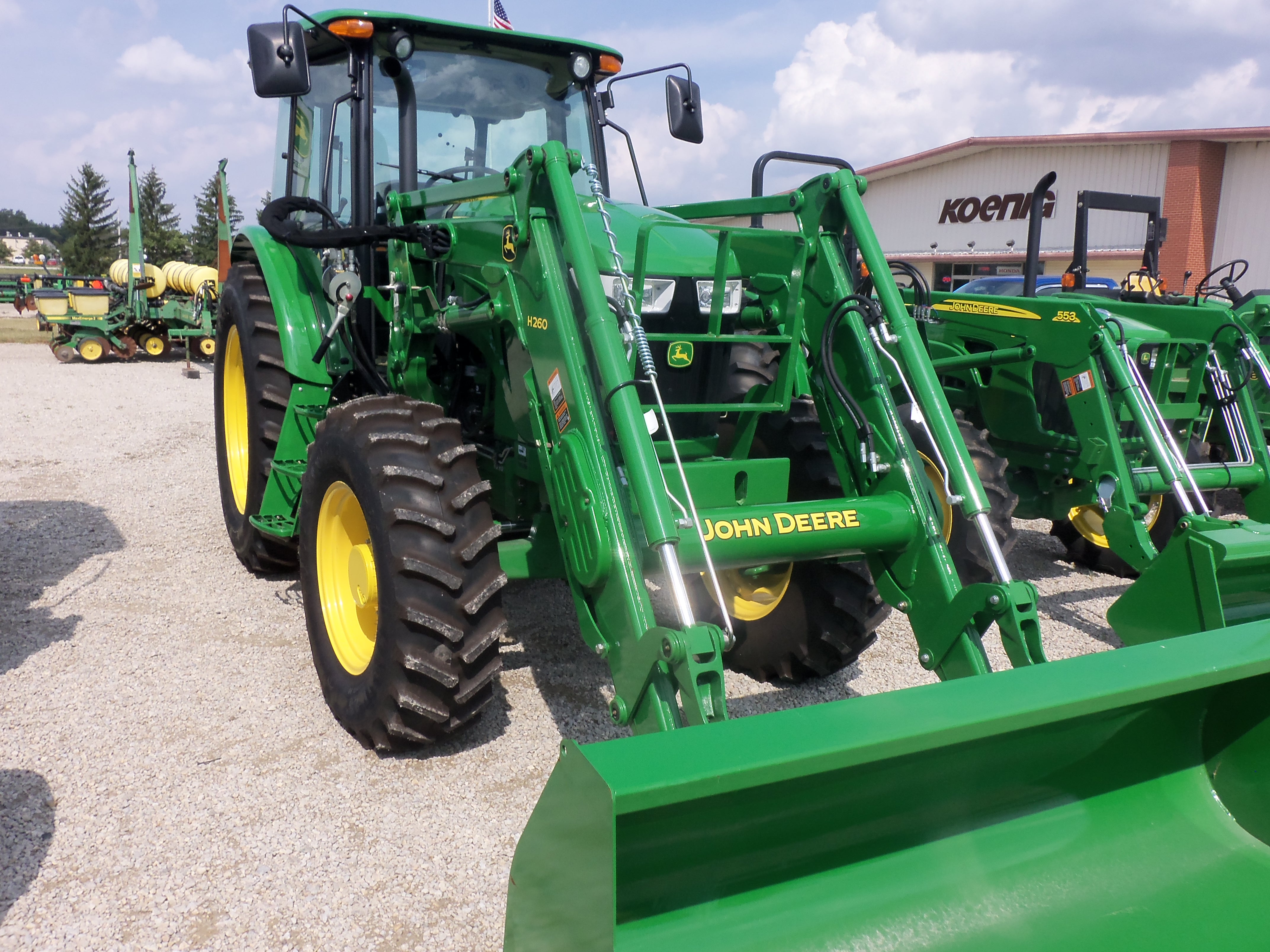 John Deere 511D with H260 loader | John Deere equipment | Pinterest
