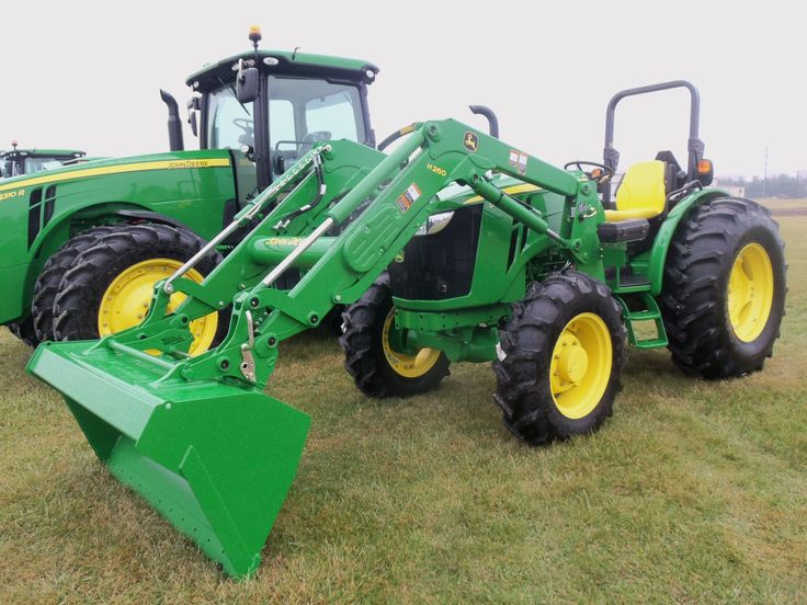 John Deere 5085E with H260 loader | Tri Green Tractor in Flora | Pint ...
