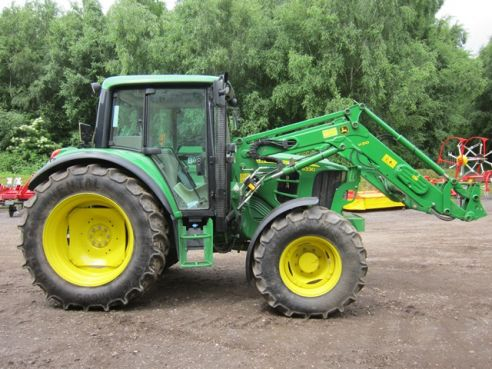 Home > Used > Tractors > John Deere 6330 Standard & JD H310 Loader