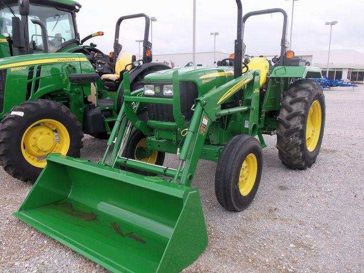 John Deere 5045D with 512 loader | John Deere GREEN | Pinterest