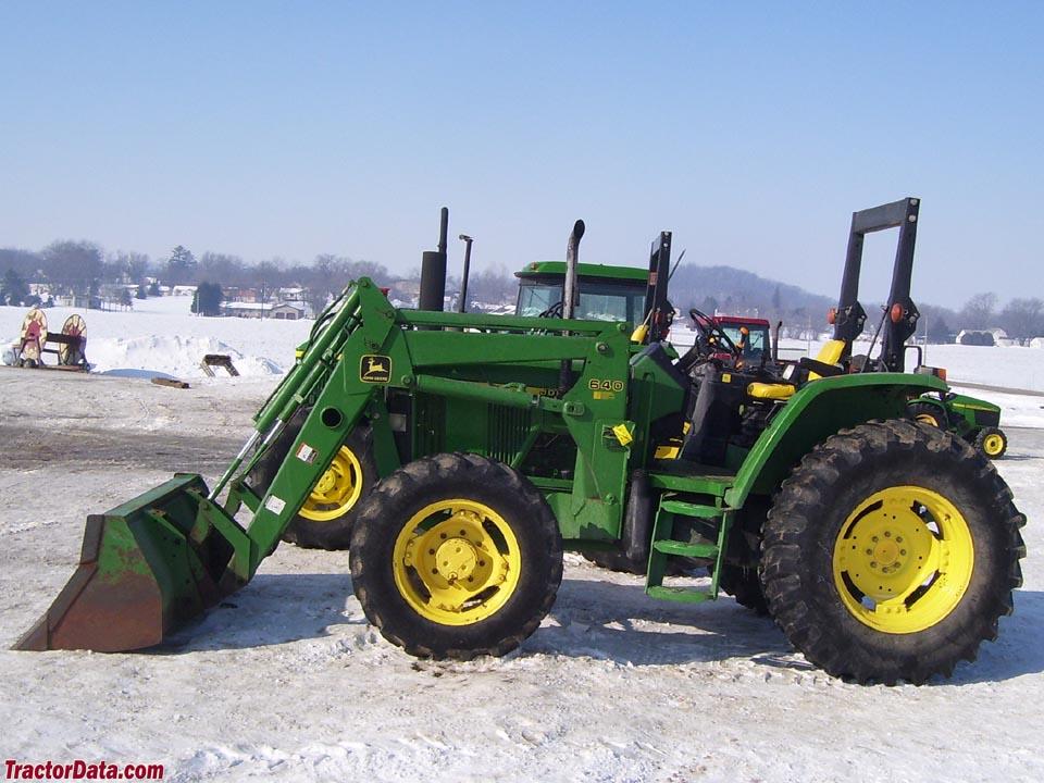 TractorData.com John Deere 6110 tractor photos information