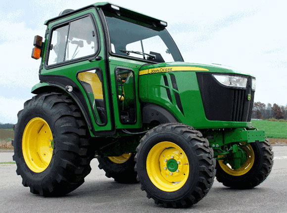 ... released a new cab system for John Deere 4 Family compact tractors