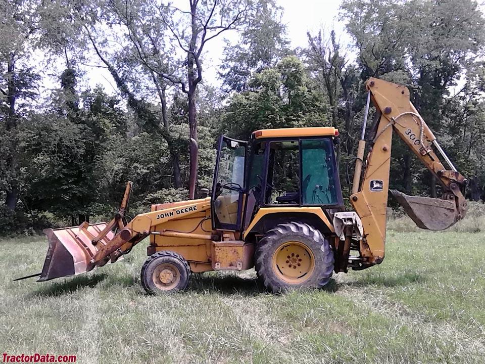 TractorData.com John Deere 300D backhoe-loader tractor ...