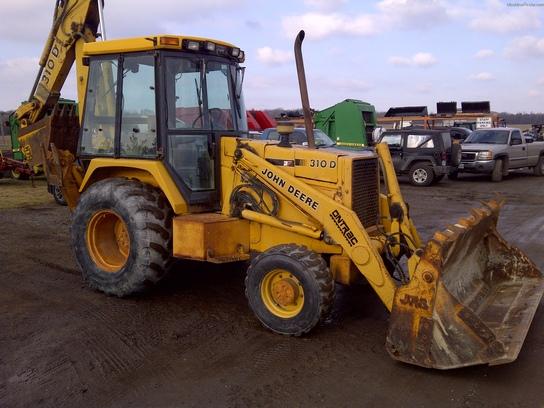 1991 John Deere 310D Tractor Loader Backhoes - John Deere ...