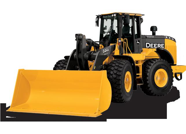 Hybrid Wheel Loader | 644K Hybrid | John Deere US