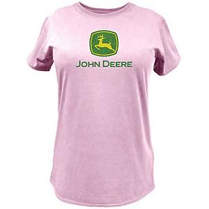 John Deere XXL Pink Ladies Short Sleeve Tee Shirt 23000024PK07 John ...