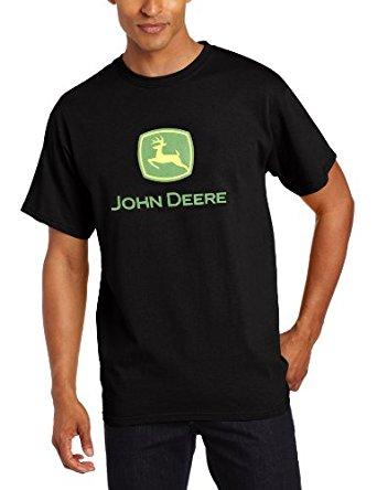 John Deere Men's Trademark Logo Core Short Sleeve Tee | Amazon.com