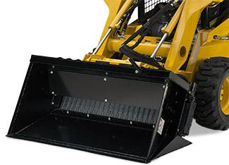 Side Discharge Bucket   Worksite Pro Attachments   John Deere US