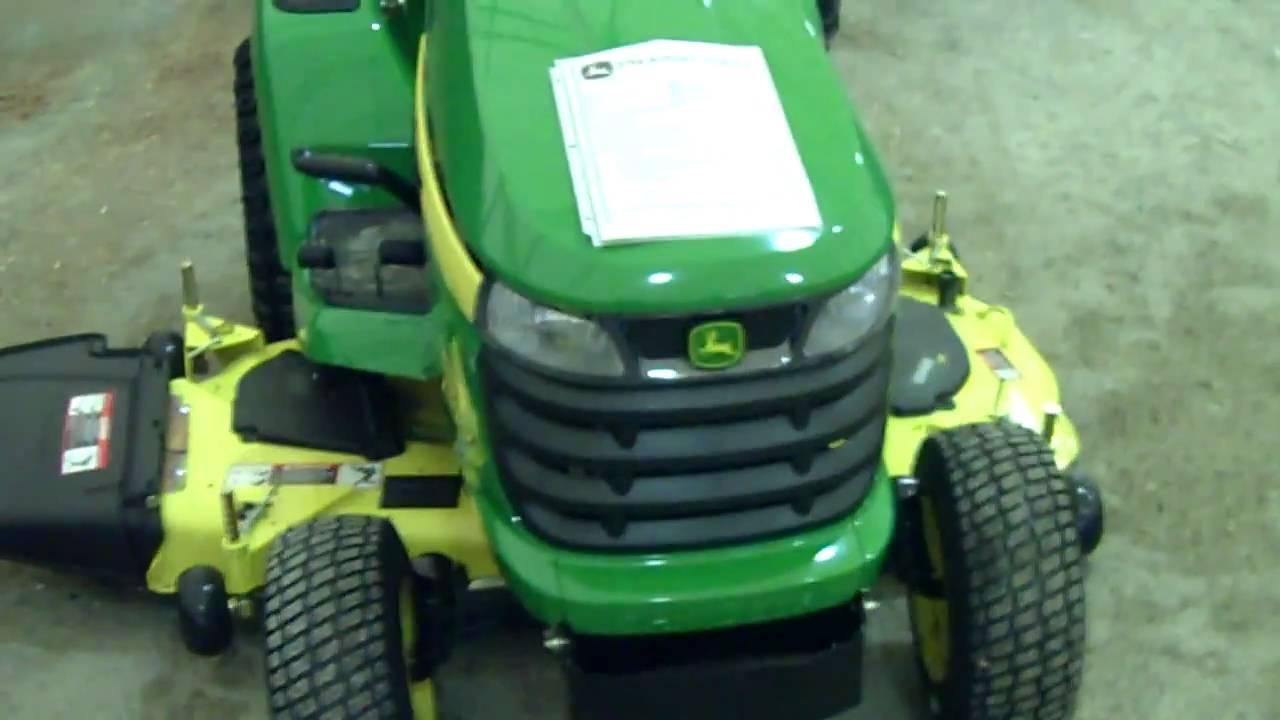 John Deere X530 Multi Terrain garden tractor - YouTube