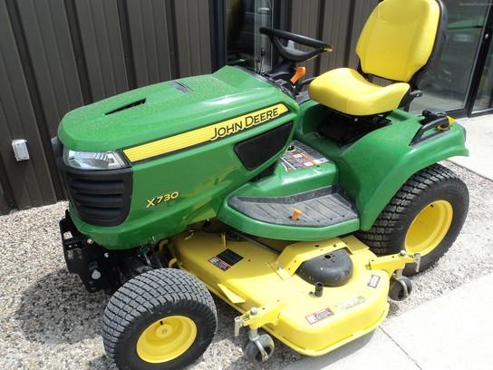 2013 John Deere X730 - Lawn & Garden Tractors - John Deere ...