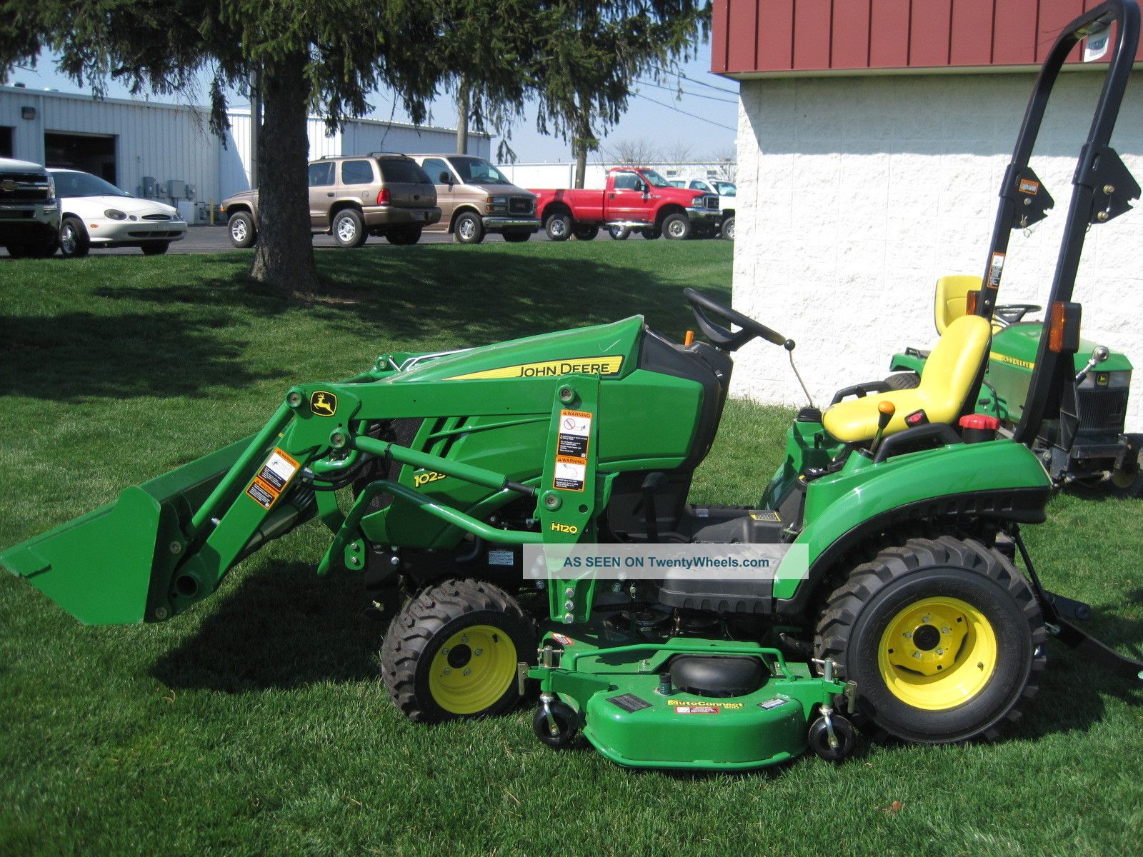 New John Deere 1 Series 1026r Sub Compact Tractor With ...