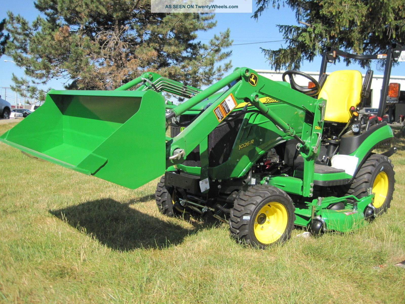 New John Deere 1 Series 1026r Sub - Compact Tractor With ...