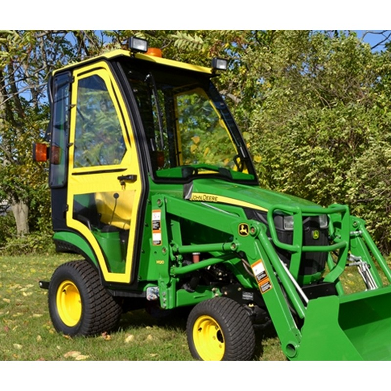 Curtis WorkPro John Deere 1 Series Soft Sided Tractor Cab