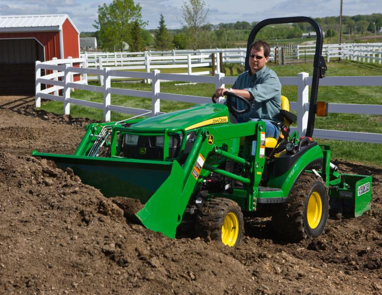 New 1 Series Sub-compact Utility Tractors From John Deere ...