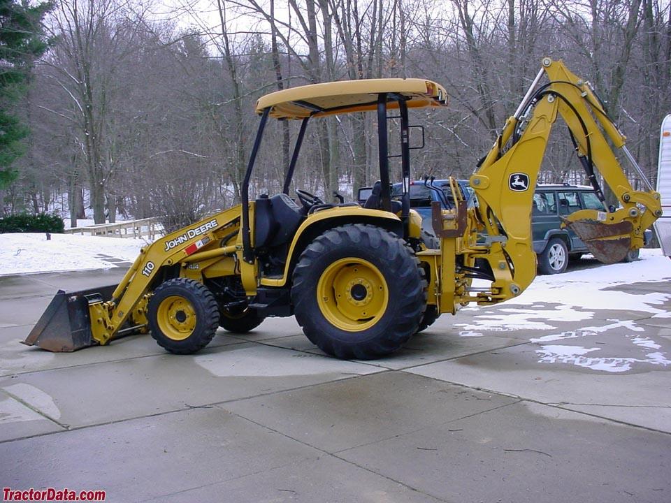 TractorData.com John Deere 110TLB backhoe-loader tractor ...