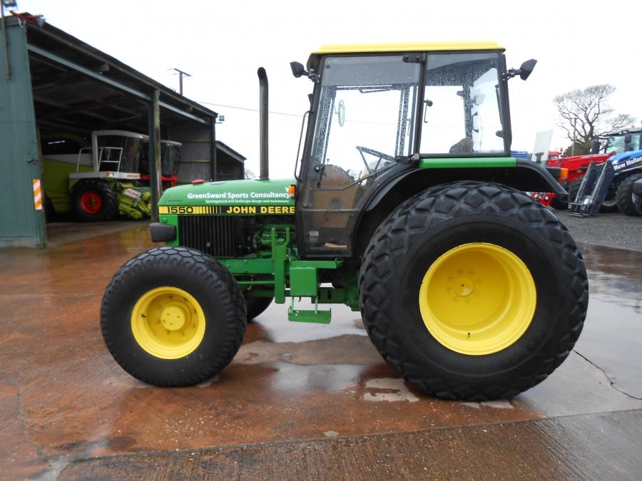 John Lake Tractors - used John Deere 1550 4WD for sale ...