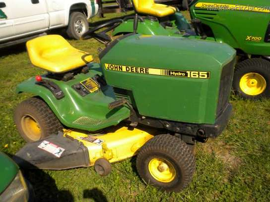 1987 John Deere 165 Lawn & Garden and Commercial Mowing ...