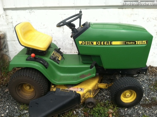 1988 John Deere 165 Lawn & Garden and Commercial Mowing ...