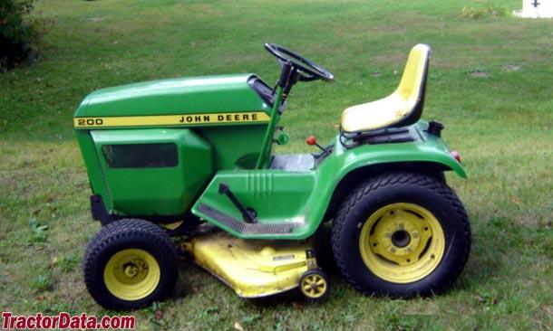 TractorData.com John Deere 200 tractor photos information