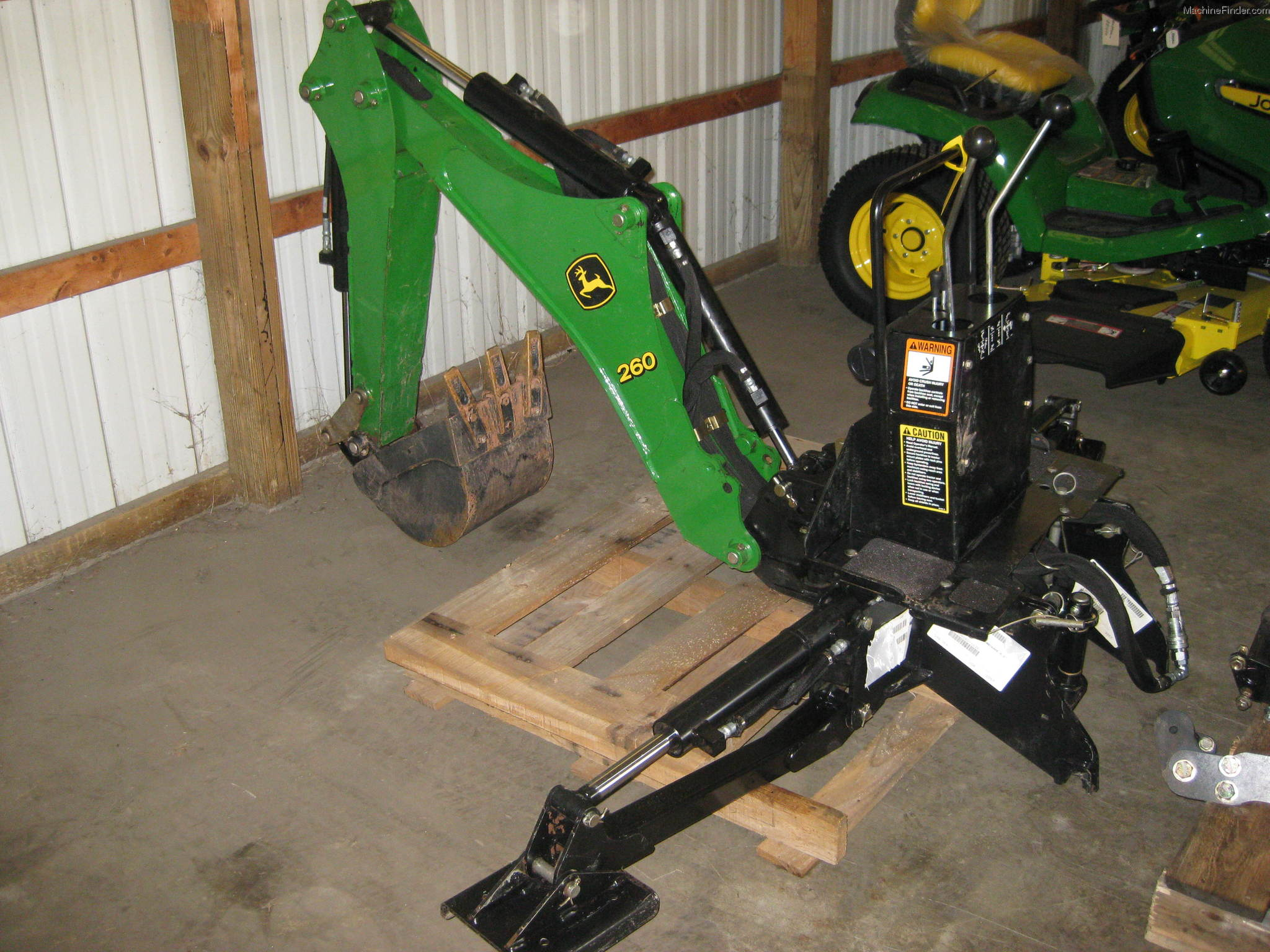 2008 John Deere 260 Attachments - John Deere MachineFinder