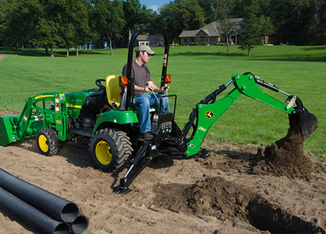 John Deere 260 Backhoe Loading and Digging Attachment