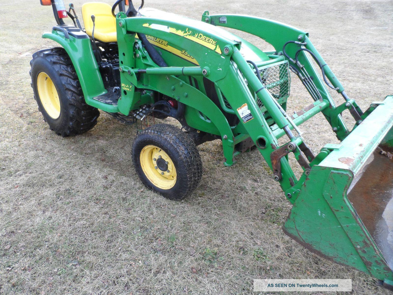 John Deere 3320 Tractor Loader Cx300 Hydrostatic 3pt 4pt ...