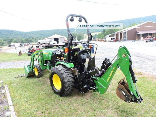 2009 John Deere 2720 Tlb Tractor Loader Backhoe 4x4 540 ...