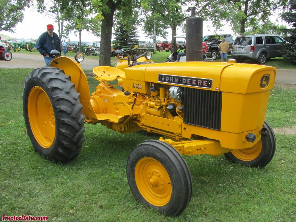 TractorData.com John Deere 300 industrial tractor photos ...