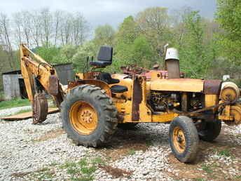 Used Farm Tractors for Sale: John Deere 300 Backhoe (2008 ...