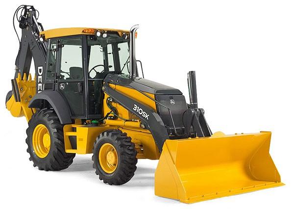 John Deere 310 SK tractor backhoe loader - Ertl Tomy ...