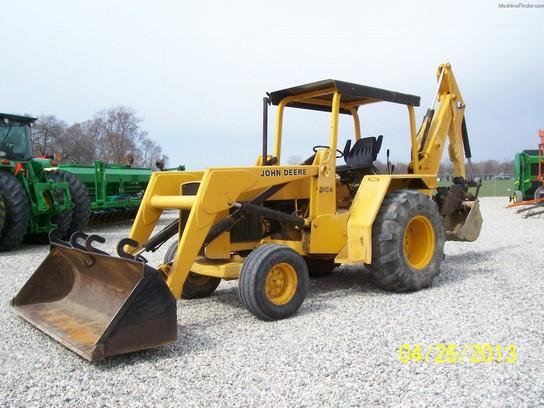 John Deere 310A Tractor Loader Backhoes - John Deere ...