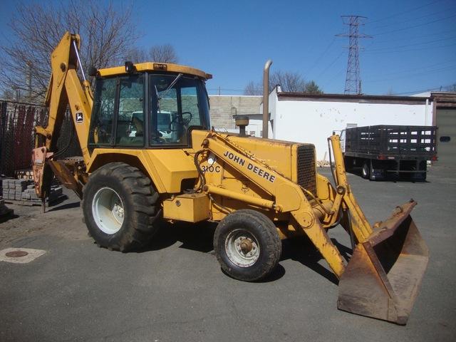 John Deere Backhoe 310C 1987 One Owner Hammer http://bit ...