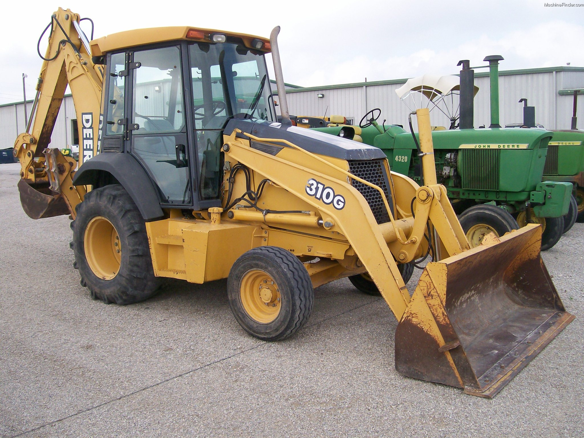2003 John Deere 310G Backhoe Loaders - John Deere ...